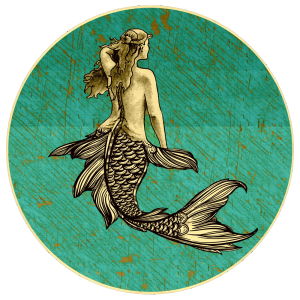 Mermaid Market and Seagull Lounge on Vashon Island Logo
